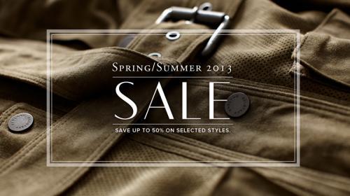 Belstaff Spring/Summer Sale Save up to 50%