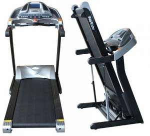 COMMERCIAL TREADMILL 6.5HP 20 INCLINE, MP3 SPEAKERS Max user weight: 180kg @ Ebay pro-rider-mobility £599 Delivered