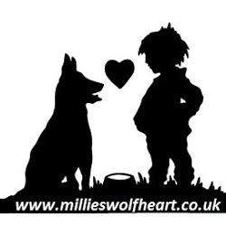 Free sample of Millies Wolfheart Glutten Free Working and Sporting Dog food