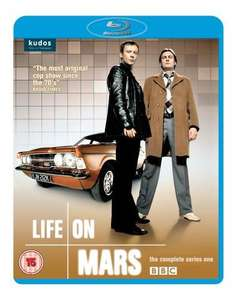 Life on Mars - BBC Series 1 BluRay Boxset £8.92 / Series 2 £8.60 delivered @ Amazon