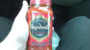 Sharwoods Bhut Jolokia Curry Sauce 42p @ ASDA
