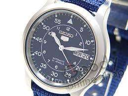 Seiko Men S 5 Automatic Watch Snk807k2 45 56 Sold By Icm On Amazon