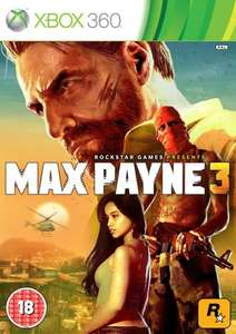 Max Payne 3 (Xbox 360 & PS3) £5 delivered @ Tesco Direct