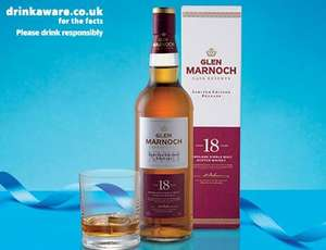 Glen Marnoch 18 Years Old Whisky 70CL @ £ 24.99 @ Aldi