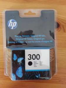 HP 300 black ink cartridge £6.00 @ Asda instore