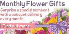 Bunches 12 Months of flowers by post £199 plus 2000 posy points