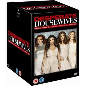 Desperate Housewives - 1-8 complete box set £39.99 @ Play.com (Zavvi Outlet)