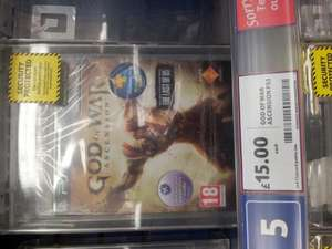 God of war Ascension (PS3) - £15 instore @ Tesco