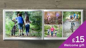 £15 Photo Book for just £5 (the p&p) @ Albelli