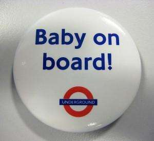 Free 'Baby On Board' Badge From TFL