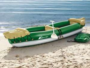 2 person kayak for protected offshore waters - 3 year warranty - £39.99 instore Lidl from thursday 27th June