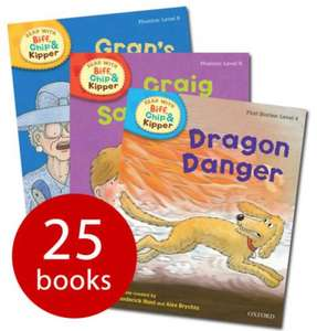 Read With Biff, Chip And Kipper ( Levels 4-6 ) - 25 Books now £12.60 del @ The Book People (using codes) also Read Write Inc. Phonics Collection - 18 Books now £11.69