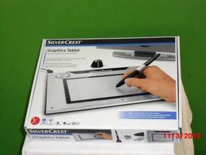 lidl silvercrest graphics tablet reduced £15