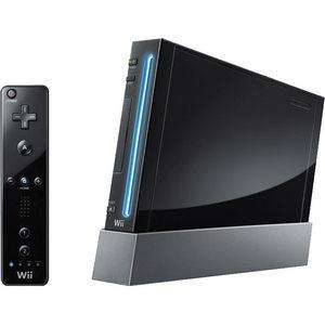 Nintendo Wii Black Console (PAL) - Includes black remote, nunchuck - FREE P&P - £25.99 @ ebay/estocks