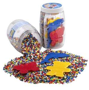 9000 Hama Beads & 3 Pegboards now £4.50 del @ Amazon