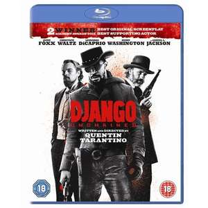 Django Unchained - Blu-ray + Ultraviolet @ Play.com (Zavvi Outlet) *NEW* £9.99