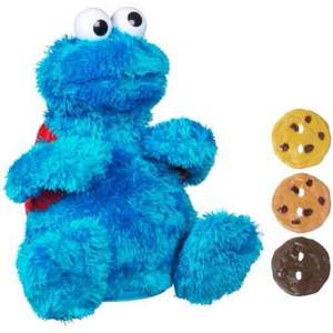 Sesame Street Count 'N Crunch Cookie Monster £9 delivered @ amazon