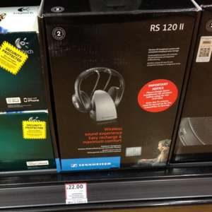 Sennheiser RS120 II RF Wireless Headphones £22.00 @ Tesco instore