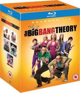 The Big Bang Theory Season 1-5 BLU RAY £29.95 @Zavvi