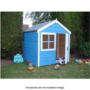4 foot x 4 foot wendy house for £116.49 @B&Q