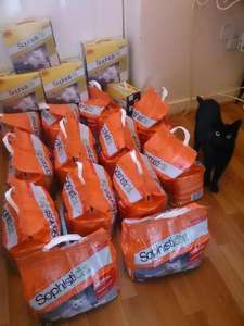 Sophisticat - Cat Litter 20% off + £20 off £80 spend via quidco @ Ocado