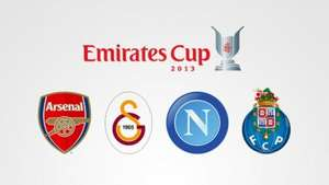 Arsenal Emirates Cup.....Napoli, Galatasaray and Porto from £29 for 2 games