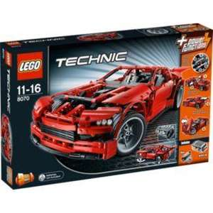 LEGO Technic Supercar 8070 half price £47.52 + sale on other Lego Technic sets @ Argos