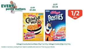 Kellogg's Crunchy Nut Cornflakes Half Price now £1.04 @ Morrisons