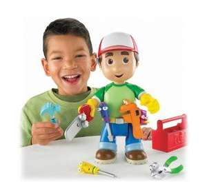 Fisher-Price Handy Manny Let's Get to Work Manny Figure £8.10 @ Amazon