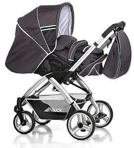 Hauck Apollo RS Pushchair Charcoal - Parent Facing £139.99 @ kiddisave