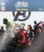 Marvel - 6 Movie Collection, Blu Ray. Avengers, Thor, Hulk, Ironman, Captain America. Sainsburys Entertainment £35.