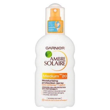 Garnier Ambre Solaire Suntan Moisturising Protection Spray Medium SPF 20 200 ml - £3.99 @ Amazon