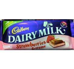 Cadbury Strawberry & Creme Bar (Limited Edition 120g) £1.00 @ Newsagents & Supermarkets