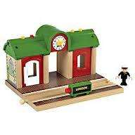 Brio Record and Play Railway Station £15.99 (using code VXXN) @ Mothercare - delivered to store