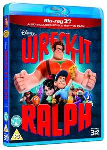 Wreck-It Ralph [Blu-ray 3D + Blu-ray] £12.55 @ Amazon