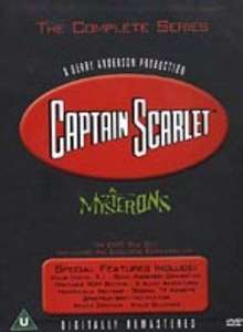 Captain Scarlet - Complete Series Box Set [DVD] Sold by Discs4all and Fulfilled by Amazon - £13.76