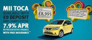 Seat Mii Toca £79 per month 1 years free insurance from £8995 with finance