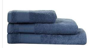 J by Jasper Conran Egyptian cotton towels 70% off - from £3.15 (+ Quidco) & free delivery - Debenhams