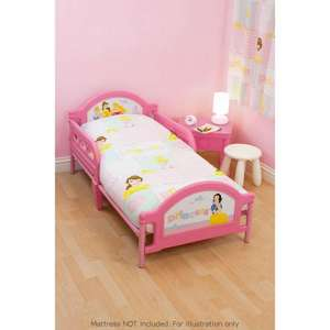 Disney Princess Toddler Bed £29.99 Instore @ B&M