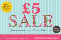 KTwo £5 sale: Selected items reduced