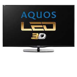 "SHARP AQUOS LC-50LE651E 50"" FULL HD 3D SMART TV WITH FREEVIEW HD £735 at 1st audio"