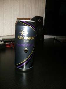 Strongbow Dark Fruits Cider 8 cans for £7 @ tesco