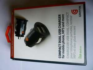 Griffin Powerjolt Dual Usb car charger £2.50 @ Tesco