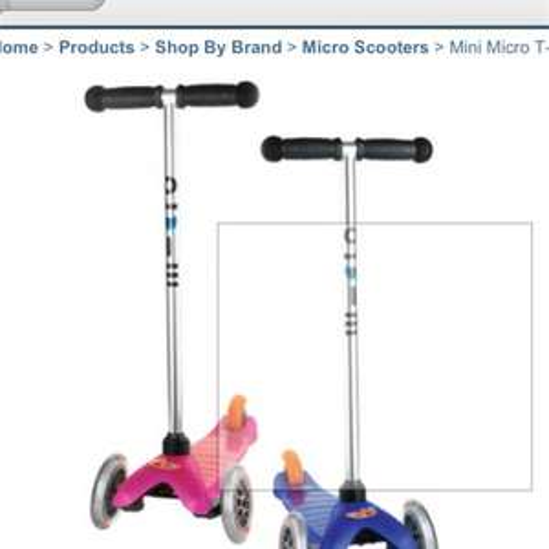 Mini Micro Scooter £43.25 with code & quidco @ JoJo Maman Bebe