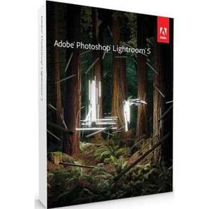 Adobe Lightroom 5 Upgrade from Adobe £46.86 - Glitch not charging VAT
