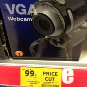 Webcam for £0.99 instore at Tesco !!!