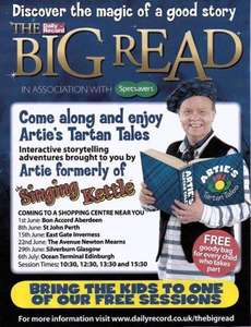 """Free children goodie bag with """"The big read"""""""