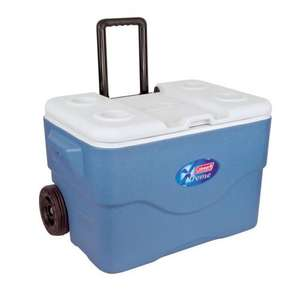 Coleman 50Qt Xtreme Wheeled Cooler Hard Shell Passive Cooler Amazon - £5.54