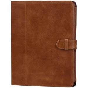 John Lewis Grey Leather Book Case for iPad 2, 3rd generation iPad & iPad with Retina display Was £59.95 Now £7.49