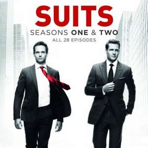 Suits Season 1 and 2 £11.52 @ eBay / Moogle's Bookshelf